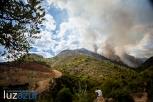 Incendio forestal en la Vall d'Uixó. 2014. Luzazul estudio (Raúl Rubio)