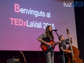 Junior Mackenzie en las charlas TEDxLaVall2015, organizadas por el IES Honori Garcia en la Vall d'Uixó. Foto: Raúl Rubio (www.luzazulestudio.com)