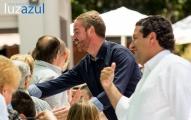 Mitin PP la Vall d'Uixó, con Oscar Clavell, Isabel Bonig y Javier Moliner. Foto: Raul Rubio (www.luzazulestudio.com). Mayo 2015