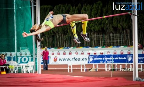 La cántabra, intentado el récord de España (2.03).